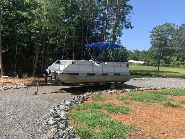 Lake James Pontoon Rental - Pontoon C