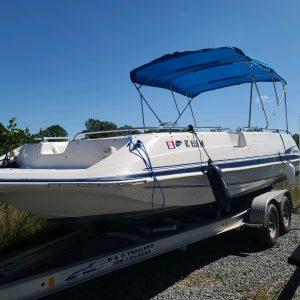 Hurricane Fiberglass Boat Rental